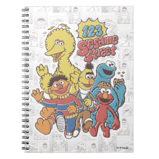 Carnet Sesame Street du cru 123