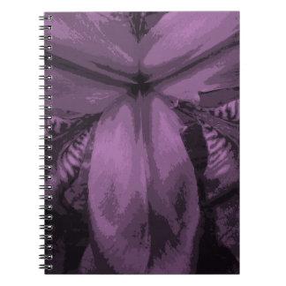 """Carnet sibérien coloré d'iris """"d'orchidée"""