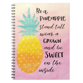 Carnet Soyez un ananas