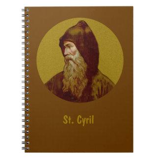 Carnet St Cyrille le moine (M 002)