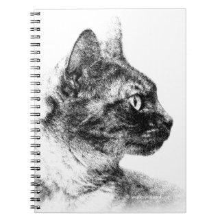 Carnet Stella le chat gris