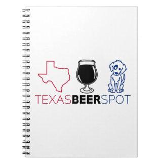 Carnet Tache de bière du Texas