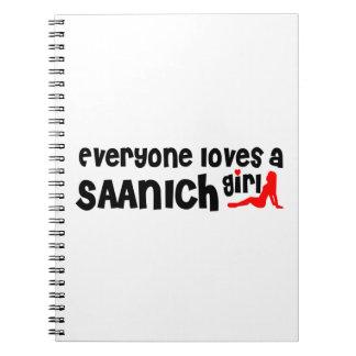 Carnet Tout le monde aime une fille de Saanich