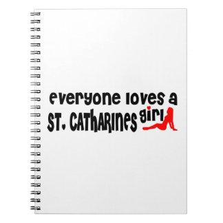 Carnet Tout le monde aime une fille de St Catharines