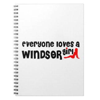 Carnet Tout le monde aime une fille de Windsor