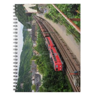 Carnet Train de marchandises dans les St. Goar