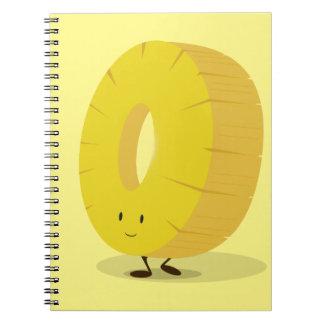 Carnet Tranche de sourire d'ananas