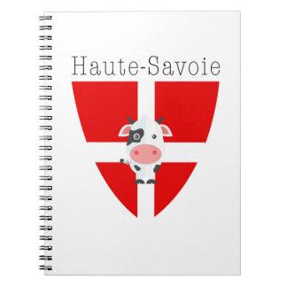 Carnet Vache à la Haute-Savoie