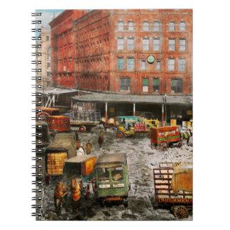 Carnet Ville - New York NY - coincée dans une ornière