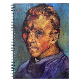 Carnet Vincent van Gogh - autoportrait sans barbe