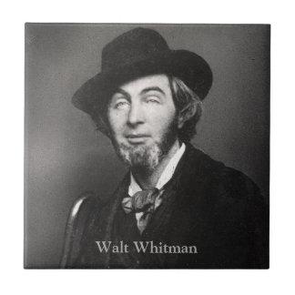 Carreau Âge 30 New York City de Walt Whitman