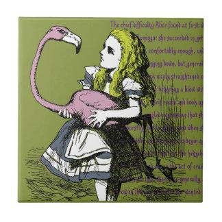 Carreau Alice au pays des merveilles