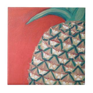 Carreau Ananas rouge
