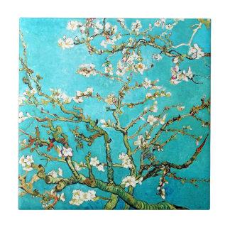 Carreau Arbre d'amande de floraison de Vincent van Gogh