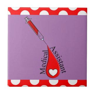 Carreau Art de baisse de sang d'aide médical
