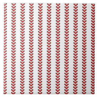 Carreau Art de motif de rayures verticales de points de