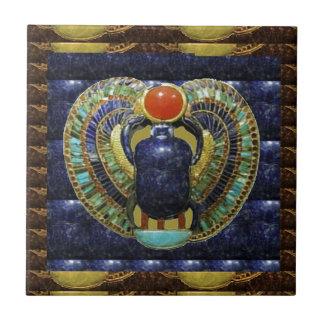 Carreau Arts VINTAGES de temple des PYRAMIDES de l'Egypte
