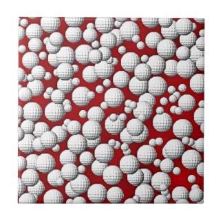 Carreau Balles de golf partout