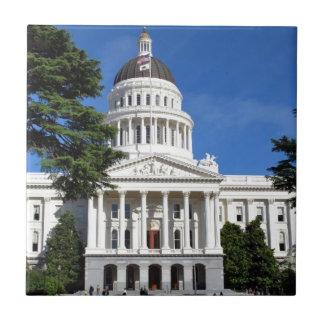 Carreau Bâtiment de capitol d'état de CA - Sacramento