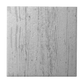 Carreau Blanc et grain en bois lavé par gris