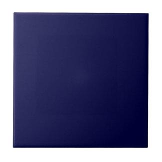 Carreau Bleu marine solide