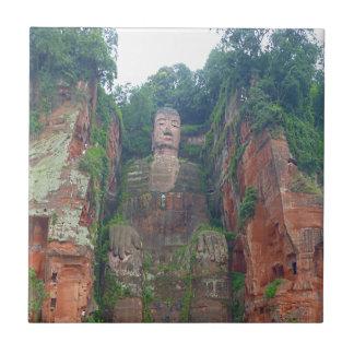 Carreau Bouddha en pierre