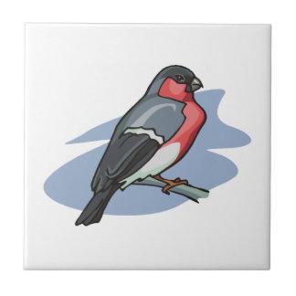 Carreau Bouvreuil d'oiseau