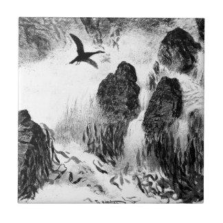 Carreau Brenning par Theodor Severin Kittelsen