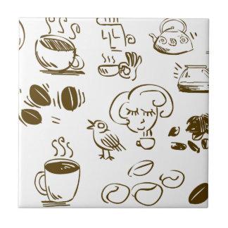 Carreau Café de café de café