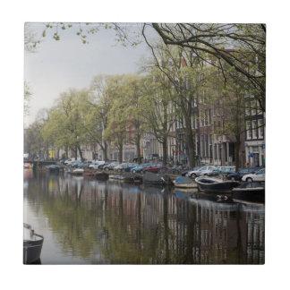 Carreau Canaux à Amsterdam, Hollande