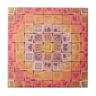 Carreau Carrés multicolores de Multi-Forme de jolie