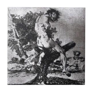 Carreau C'est plus mauvais par Francisco Goya