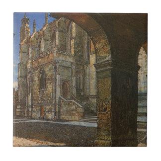 Carreau Chapelle d'université d'Eton par Anna Alma Tadema