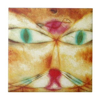 Carreau Chat et oiseau par Paul Klee