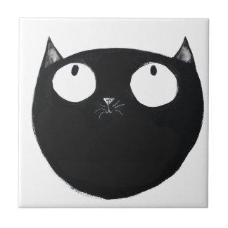 Carreau Chat noir chanceux