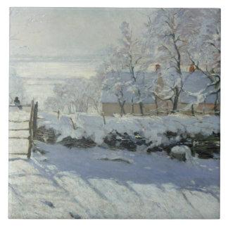 Carreau Claude Monet - la pie
