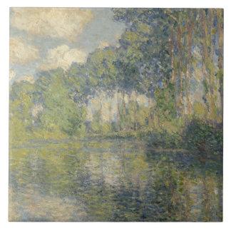 Carreau Claude Monet - peupliers sur l'Epte