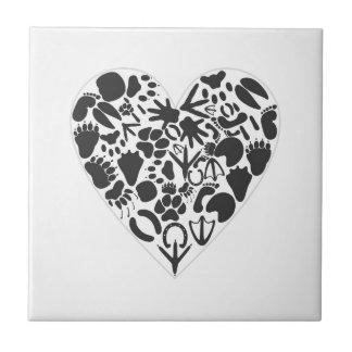 Carreau Coeur d'un animal