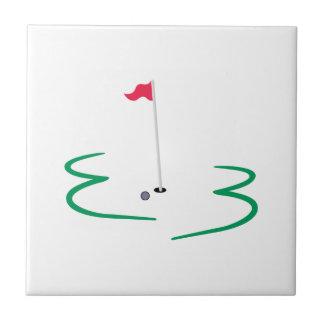 Carreau Conception de golf