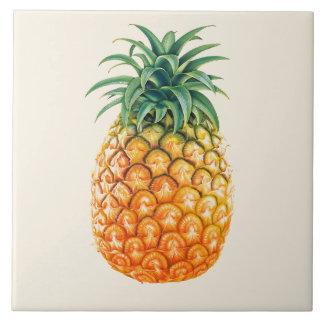 Carreau Conception illustrée d'ananas
