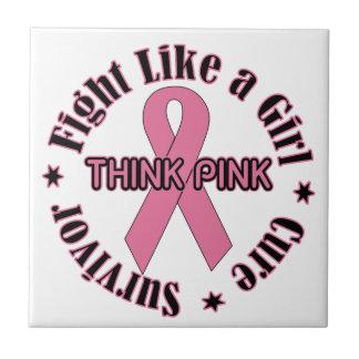 Carreau Conscience de cancer du sein