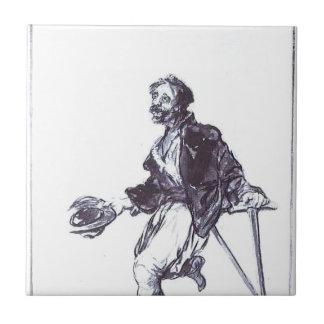 Carreau Conséquences de guerre par Francisco Goya
