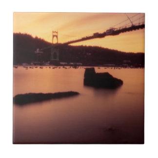 Carreau Coucher du soleil de pont de St Johns