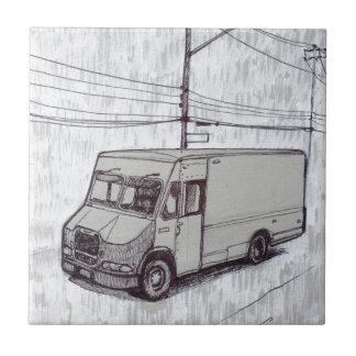 Carreau Courier Van