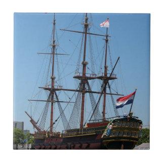 Carreau COV en bois de bateau de voile d'Amsterdam - gamme