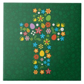 Carreau Croix de Pâques