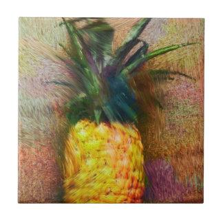 Carreau de céramique d'ananas vintage