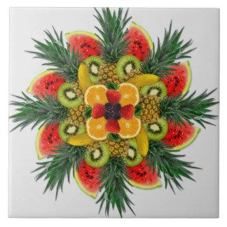 Carreau de céramique de fruit orange de banane de