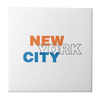 Carreau de céramique de New York City