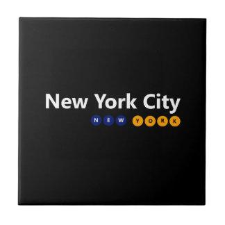 Carreau de céramique de New York City, New York